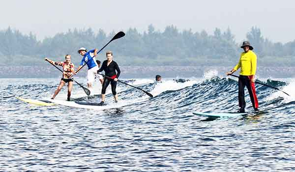 stand up paddle sanur