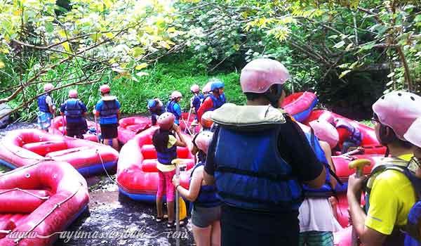 keamanan keselamatan peserta rafting