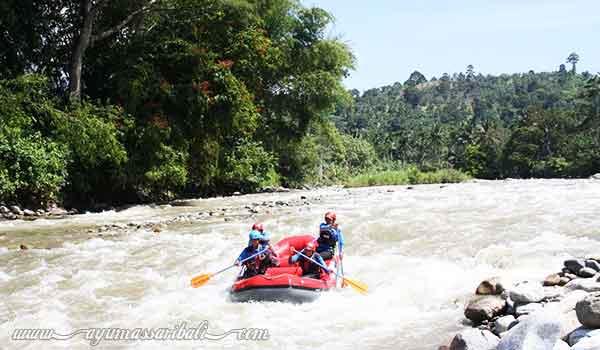 rafting di sungai alas aceh