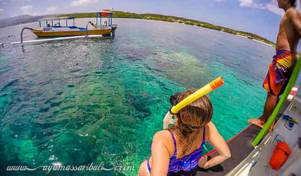 snorkeling nusa lembongan bali