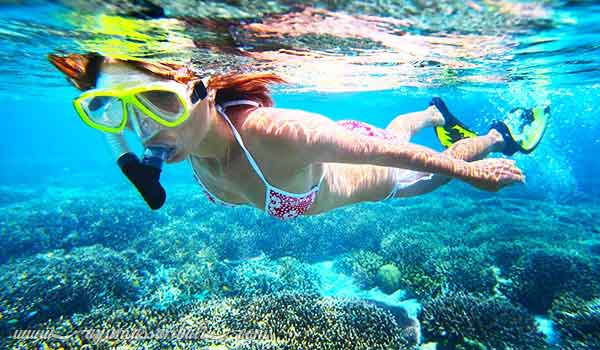 snorkeling nusa penida