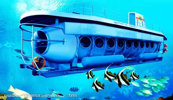 wisata kapal selam di bali